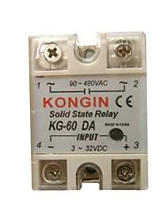 KONGIN KG-60DA 90-480VAC Solid State Relay