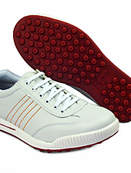 Women's White Sneakers Polyurethane Leather Golf Spike Shoes