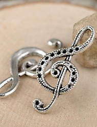 Eruner®32*15MM Alloy Music Notation Charms Pendants Jewelry DIY (10PCS)