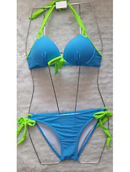Glamour Girl Steel Support Bow Bikini