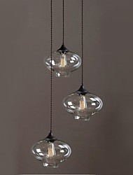 Mini Style Chandeliers , Vintage/Country Bedroom/Dining Room/Study Room/Office/Hallway Glass