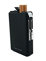 Résistance au vent tabac allume-cigare avec étui à cigarettes