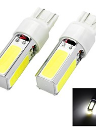 Marsing T20 20W 1500lm 4 COB LED 6500K White Light Car Phare Phare antibrouillard - (12V 2 PCS)