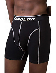 APPOLON® Men's Underwear Features Contrast Stitching  Boxer Shorts 1 Pack two Pieces White and Black