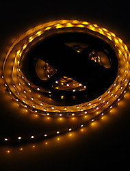 5M 24W 300x3528SMD gult ljus LED Strip Lamp (DC 12V)