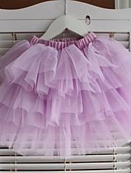 Girl's Cake Sleeveless Cotton Dresses