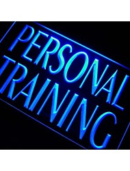m111 Personal Training Gym entraîneur Neon Light Enregistrez-vous