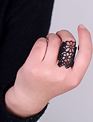 Women's Hollow Out Carving Flower Ring