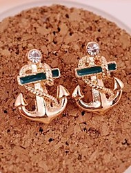 Earring Anchor Stud Earrings Jewelry Women Wedding / Party / Daily / Casual Alloy