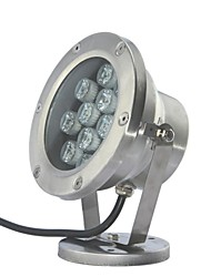 12pcs LED High Power LED ao ar livre 12W Branco Underwater Light AC/DC12V