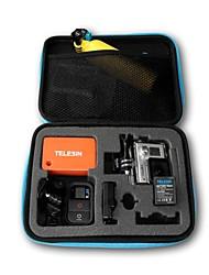 Caja de almacenamiento resistente TELESIN Agua para la cámara Gopro Héroe