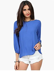The One & Only Women's  New Style Elegant All Match Backless Blouse X6007928
