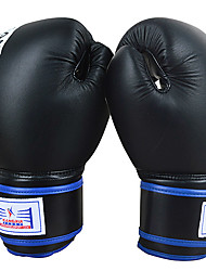 Genuine Leather Full Finger Boxing Gloves
