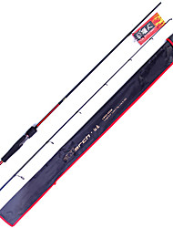 Fish Hunter - 1.98M 2 Sections M Fast Carbon Lure Rod Spinning Fishing Rod