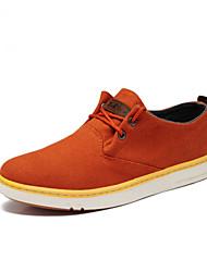 Dos homens da lona do salto Plano Comfort Moda Sapatilhas (mais cores)