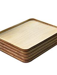 Dîner plaque en bois, W33cm xL27cm xH2cm