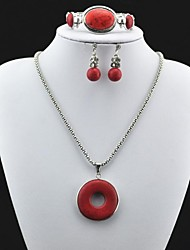 Jewelry-Necklaces / Earrings / Rings(Alloy)Party / Daily Wedding Gifts