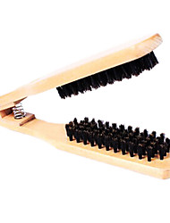 Sólido de madeira Pente Anti-Static cabelo Pente