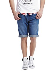 Men's Shorts , Denim Casual Celucasn