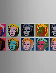 Printing Marilyn Monroe with Stretched Frame Set of 10