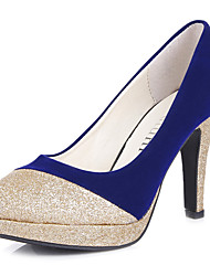 Stiletto Cap-toe Femininos Bombas Shoes