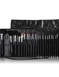 24PCS Makeup Brushes Cosméticos Sobrancelha Lip Eyeshadow Brushes Set com o processo