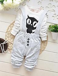Kleidung Sets ( Baumwolle ) - für BOY - Micro-elastisch - Medium - Langarm
