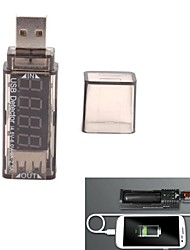 XTAR haute précision affichage led rouge usb chargeur d'alimentation tension testeur de courant - (4,5 ~ 6v / 0 ~ 2.5a)