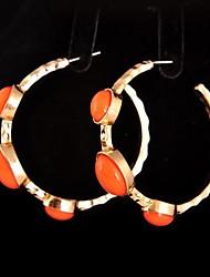 Tun Women's Exaggerated Fashion Alloy Earrings