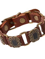 Retro-Leder-Armband