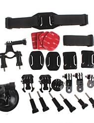 yuanbotong multi-accessoires de l'appareil photo de but kits pour Hero GoPro 3 + / 3/2/1