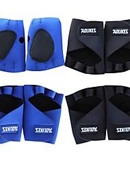 Coway профессиональный спорт дышащий резиновая защита ладони защитный средний размер передач (случайный цвет)