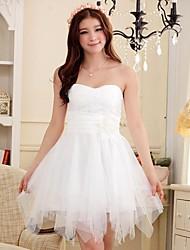 Women's Wrap Chest Irregular Hem Dress