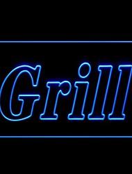 Grill Bar Publicidade LED Sign