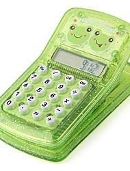 Happy Froggy Clip Multi-Function Magnet Pocket Calculator