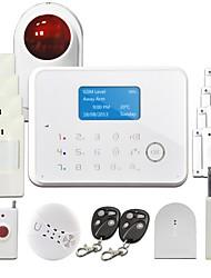 Système de sécurité SMS d'alerte, sans fil GSM PIR Alarme maison Alarme surveillé système GS-G190E