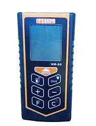 YiHM Ручной лазерный дальномер Максимальная дальность идет о 0,05-60М Точность измерения составляет ± 1,5 мм