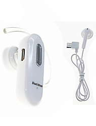 AU976  Bluetooth Headsets V2.1+EDR Wireless Headset-White