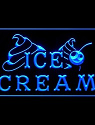 IceCream Cold Drink Advertising LED Light Sign