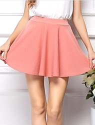 Women's Fashion High Waist Fold Skirt