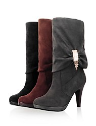 Women's Cone Heel Riding Boots Knee High Boots (More Colors)