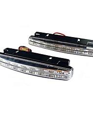 Car Daytime Running Light/Fog Light Warm White (2 PCS, 8 SMD LED)