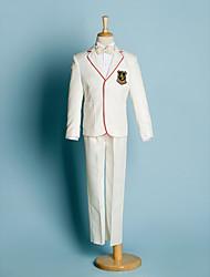 Polyester Costume de Porteur d'Alliance - 5 Pièces Comprend Veste / Chemise / Pantalons / Large Ceinture / Nœud papillon
