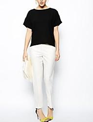 Diseño especial de la mujer en la parte posterior T-shirt