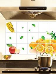 les oranges alimentaires anti-pétrole stickers muraux