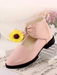 Girl's Flat Heel Ankle Strap Flats with Bowknot  Shoes(More Colors)