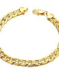 Fashion Classic Copper Plating Mannen 18 K Gouden Armband