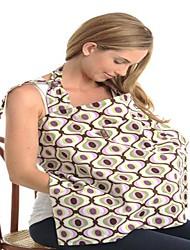 Maman extérieur coton Multifuctional Peek N boissons Nursing Cover serviette