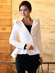 Women's Blazers & Sport Coats , Cotton Casual