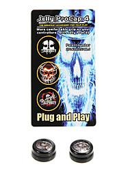 Силиконовые желе Procap для PS4 для Dualshock 4 Контроллер Аналоговый джойстик Возьмитесь Череп пальцев
